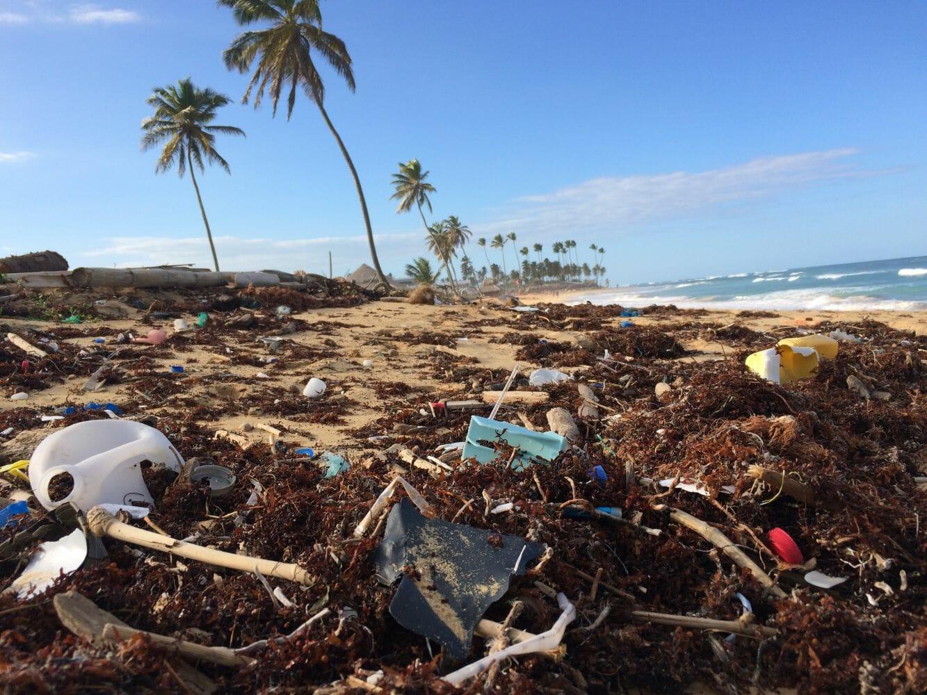 ilhas de lixo mar 2