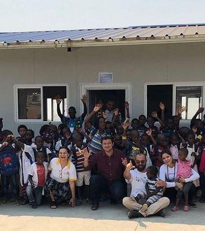 Mayra Gaiato percorre Angola quebrando o tabu do autismo infantil e outras síndromes