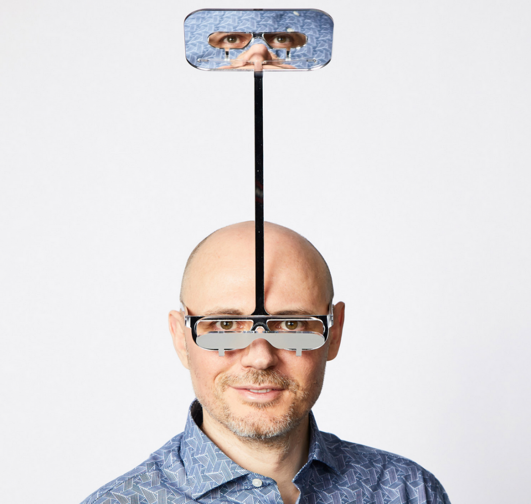 óculos periscópio 8