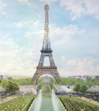 Torre Eiffel pode se transformar em um dos maiores parques de Paris