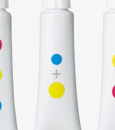 Designers japoneses criam tintas sem nome para repensar como as crianças aprendem sobre cores