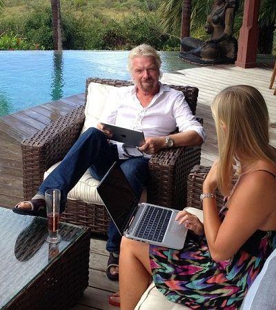 A chave para o sucesso é trabalhar 3 dias por semana, segundo o bilionário Richard Branson