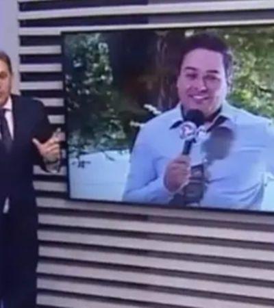 Repórter do SBT pede demissão após ofensa racista ao vivo de apresentador