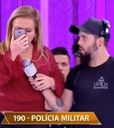 Christina Rocha liga para a PM após homem admitir que agride a mulher na TV