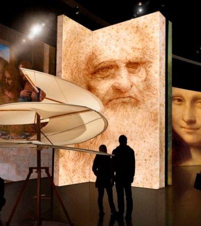 Leonardo Da Vinci é tema de exposição totalmente imersiva em São Paulo