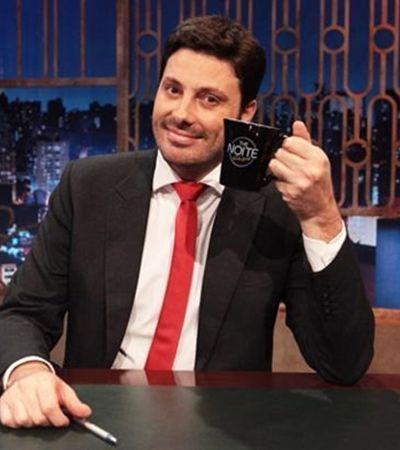 Danilo Gentili faz 'piada' com o empurrão em Marcelo Rossi e internet rebate