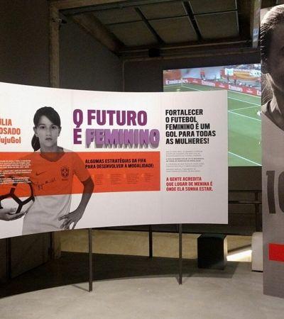 Mostra de futebol feminino no Museu do Futebol terá entrada grátis neste final de semana