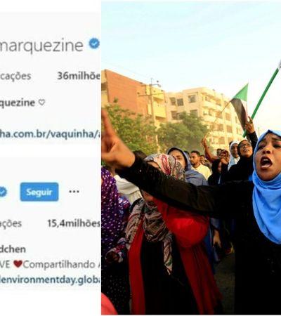 A importância da foto azul de Marquezine e Bündchen no Instagram