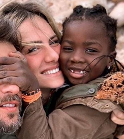 Giovanna Ewbank e Bruno Gagliasso adotam menino de 4 anos do Malawi
