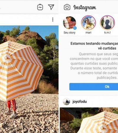 Instagram testa no Brasil posts sem número de curtidas