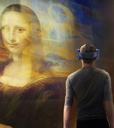 Projeto usa realidade virtual para te conectar com a 'Mona Lisa', de Leonardo Da Vinci