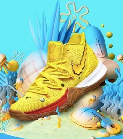 Nike lança linha especial inspirada em personagens de 'Bob Esponja'