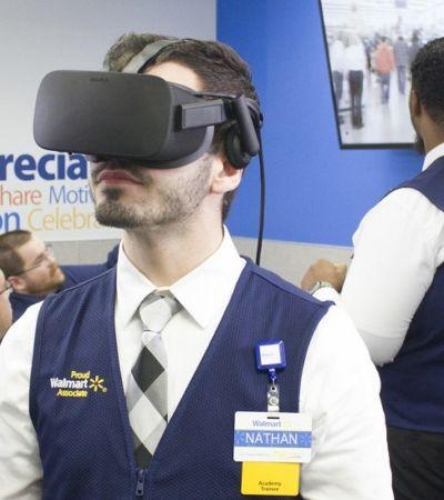 Walmart passa a utilizar a Realidade Virtual para promoção de funcionários