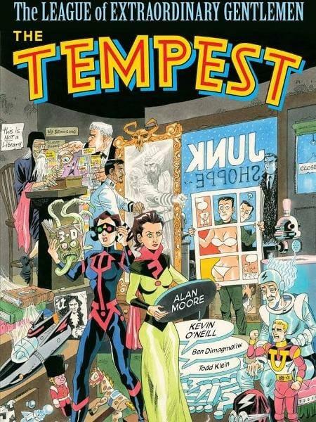 Capa de The Tempest