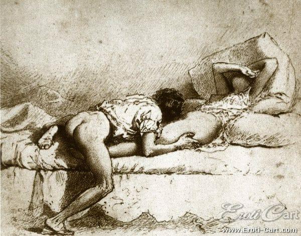 arte erótica Mihaly Zichy 1