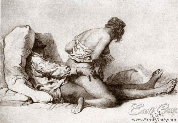 arte erótica Mihaly Zichy 10