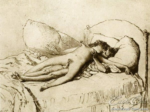 arte erótica Mihaly Zichy 11