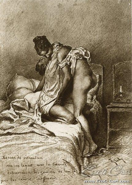 arte erótica Mihaly Zichy 13