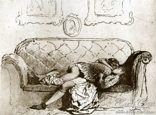 arte erótica Mihaly Zichy 14