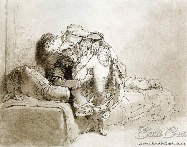 arte erótica Mihaly Zichy 17
