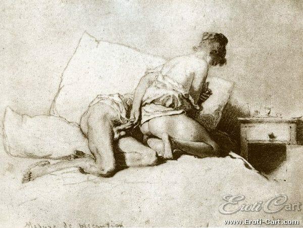 arte erótica Mihaly Zichy 18