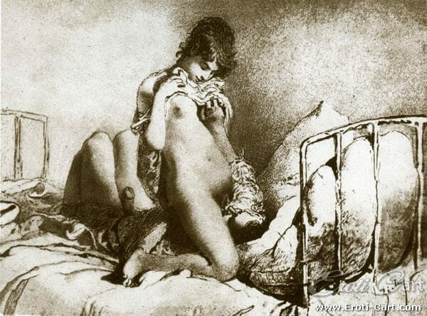 arte erótica Mihaly Zichy 19