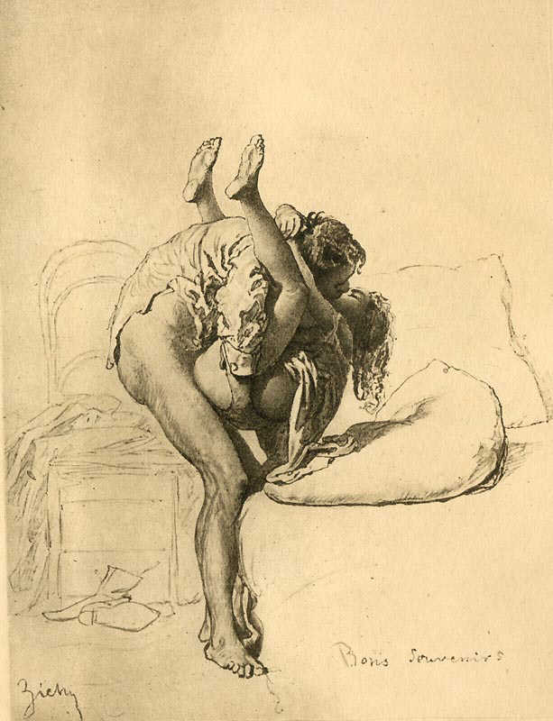 arte erótica Mihaly Zichy 2