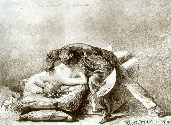 arte erótica Mihaly Zichy 3