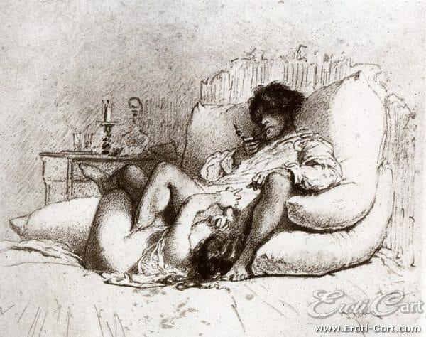arte erótica Mihaly Zichy 8