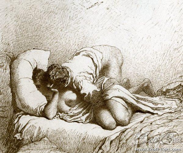 arte erótica Mihaly Zichy 9