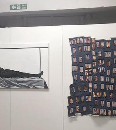 Estudante de arte recebe 300 fotos de pênis pelo Tinder e as transforma em pinturas