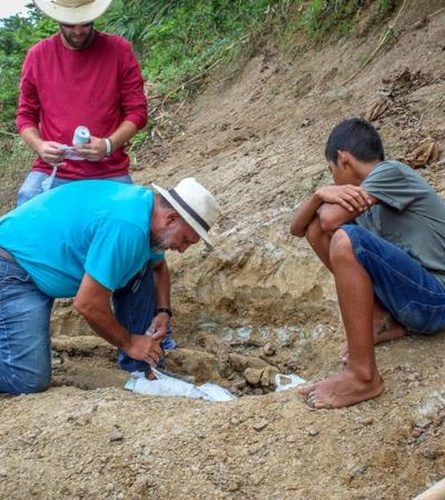 Menino de 11 anos encontra fóssil de jacaré gigante de 8 milhões de anos