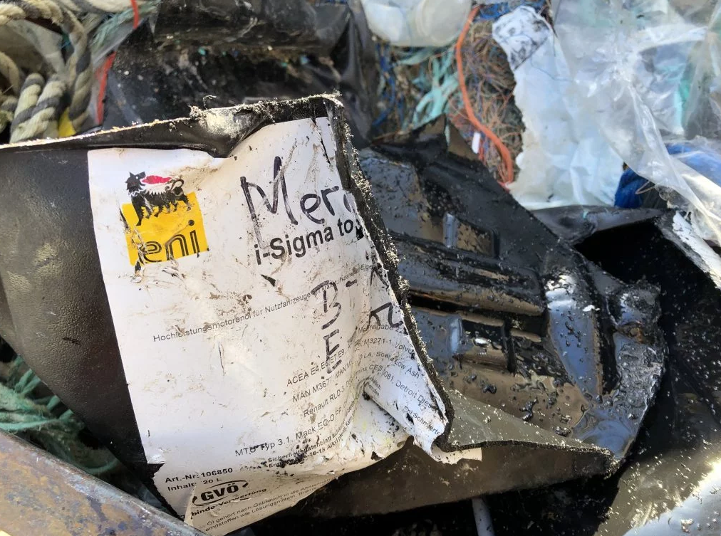 lixo marinho combustível 7