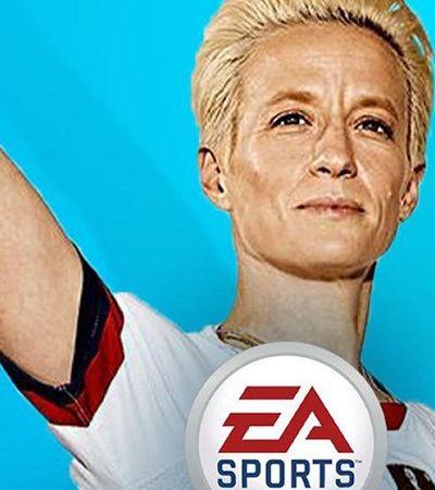 Criaram uma petição para colocar Megan Rapinoe na capa do Fifa 20