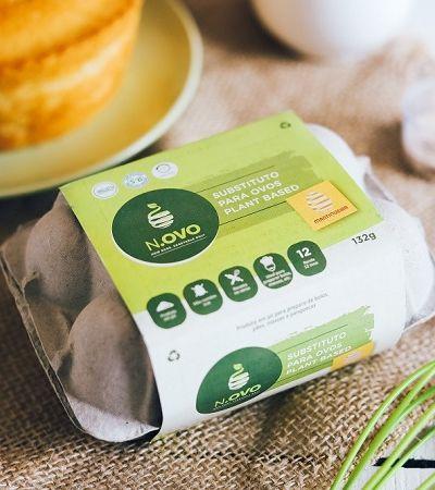 Conheça o N.ovo, substituto 100% vegetal do ovo para não veganos e veganos