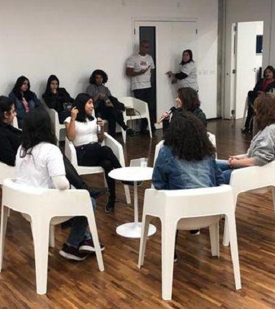 """Thalita Rebouças fala sobre empoderamento para meninas da periferia de São Paulo em sessão de """"Fala Sério, Mãe!"""""""