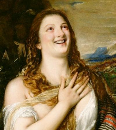 Botaram um belo sorriso em personagens de pinturas clássicas. E ficou massa