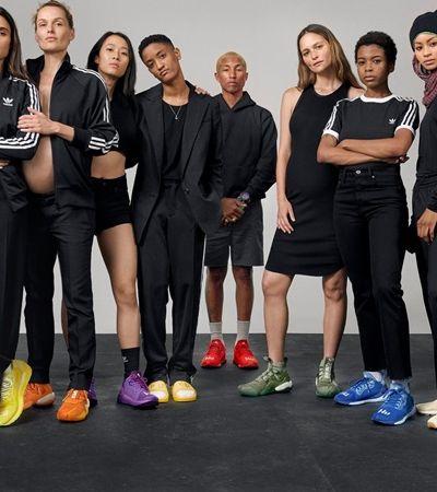 Adidas cria campanha de empoderamento feminino, mas coloca Pharrell para assinar coleção