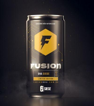 Energético Fusion terá informações do game Rainbow6 armazenadas em DNA