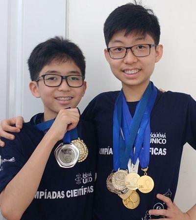 Irmãos do interior de SP são destaque em olimpíadas de conhecimento