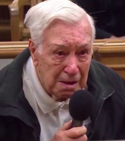 Juíz perdoa multa de idoso de 96 anos que levava filho para tratar câncer