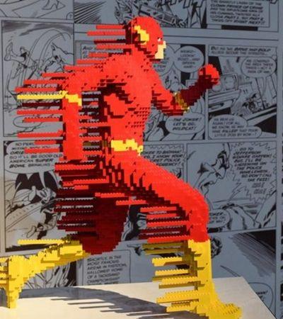 SP recebe a maior exposição de Lego do mundo, com heróis e vilões da DC Comics