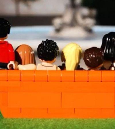 Queremos: Lego vai lançar conjunto inspirado em 'Friends'