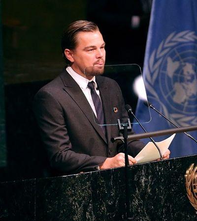 Leonardo DiCaprio sobre Amazônia: 'Pulmão do mundo está em chamas'