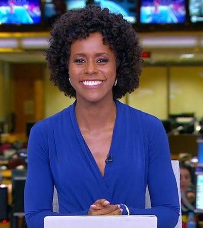 Maju Coutinho é a nova apresentadora do Jornal Hoje