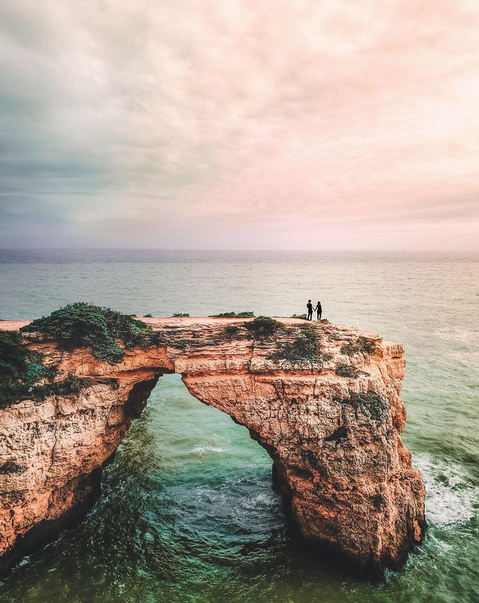 O casal e o horizonte