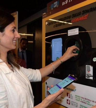 Metrô de Roma troca garrafas recicláveis por descontos nos bilhetes