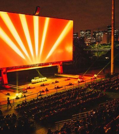 Shell Open Air traz cinema a céu aberto e telão gigante para o Jockey Club de São Paulo