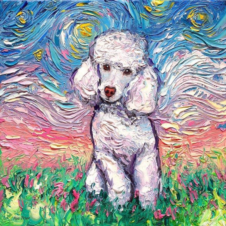 a noite estrelada cachorros 2