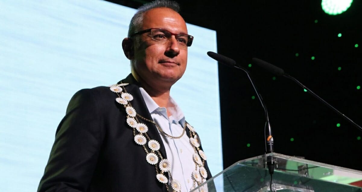 Antonis Mavropoulos é o fundador e CEO da D-Waste e Presidente da ISWA